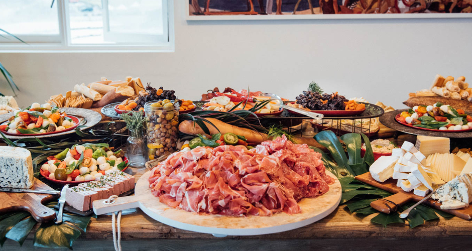 Antipasto Station | The Blue Room Bondi
